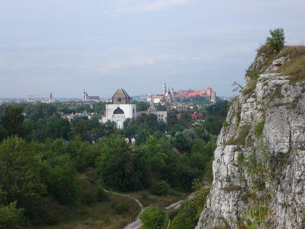 Krakow widok na wawel 2